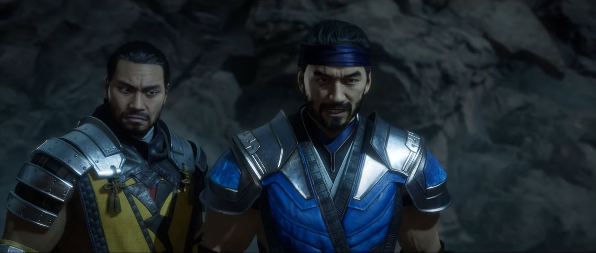 mortal kombat 11 in-game images-scorpion and sub-zero
