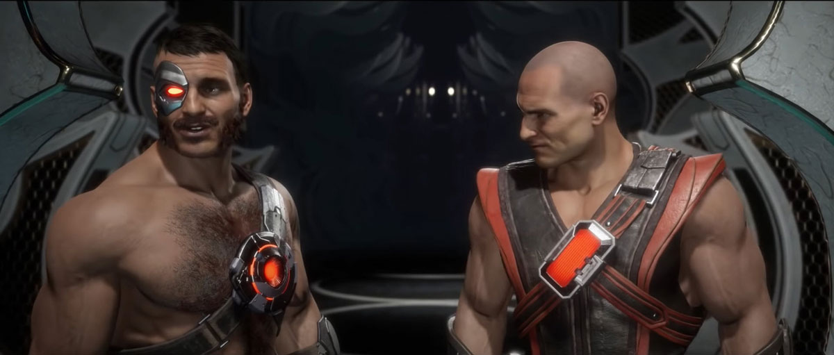 mortal kombat 11 in-game images-old and young kano