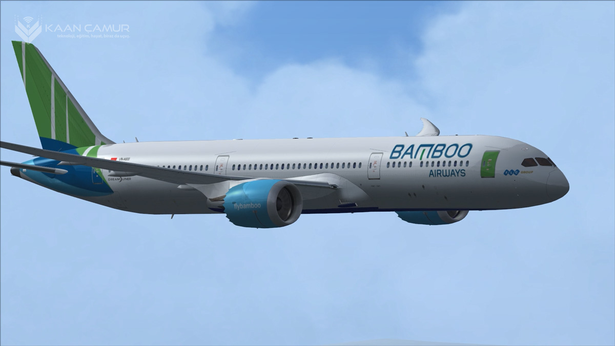 Flight Simulator X (FSX) Steam Edition Boeing 787 Dreamliner Paketi